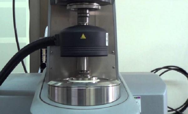 Reómetro para laboratorio de química