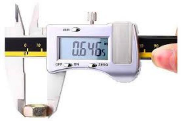 Características del calibrador digital